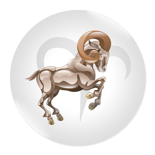 Значка със зодия Овен