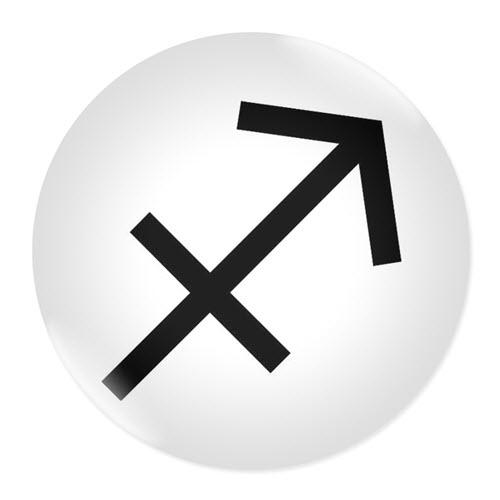 Значка със зодия Стрелец