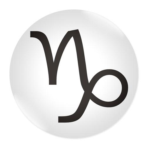 Значка със зодия Козирог