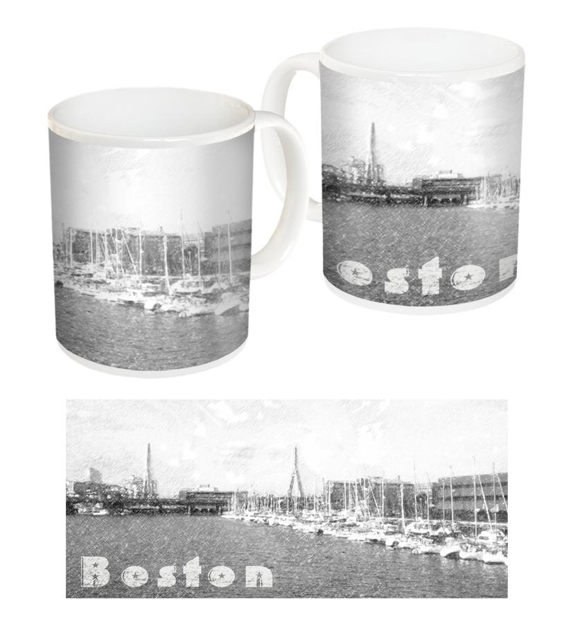 Чаша със снимки от Бостън