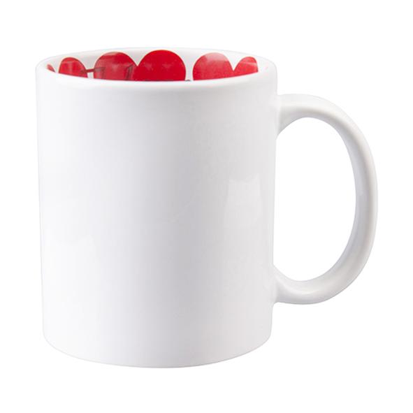 Бяла чаша Love