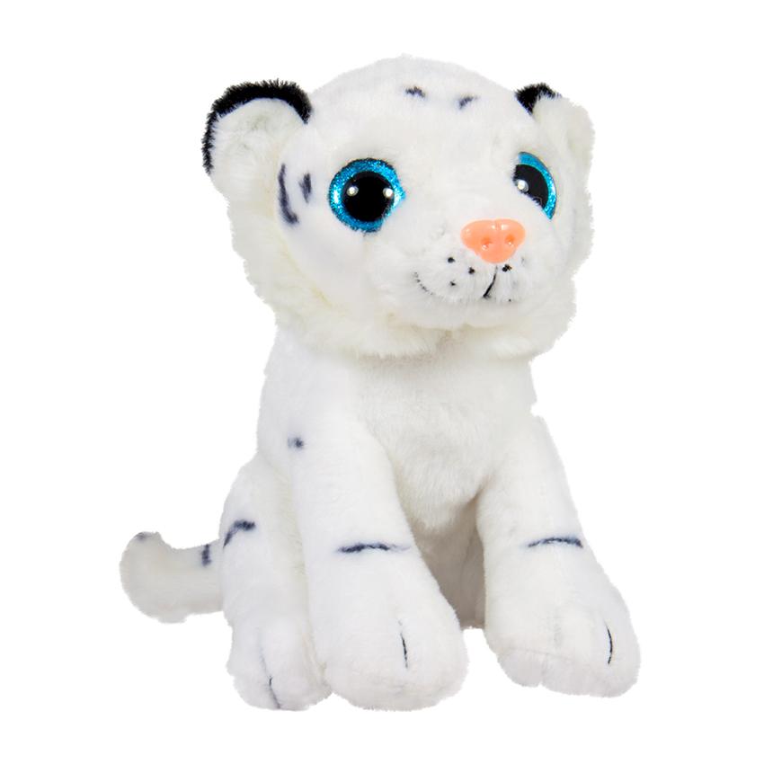 Седнало бяло тигърче