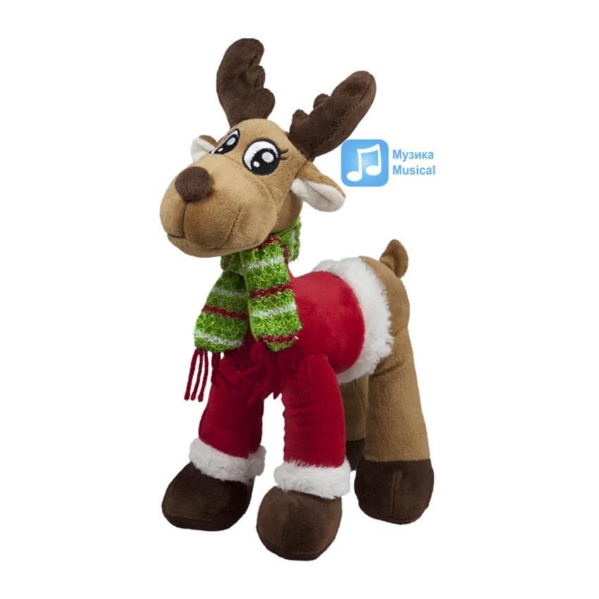 Коледен елен с пуловер