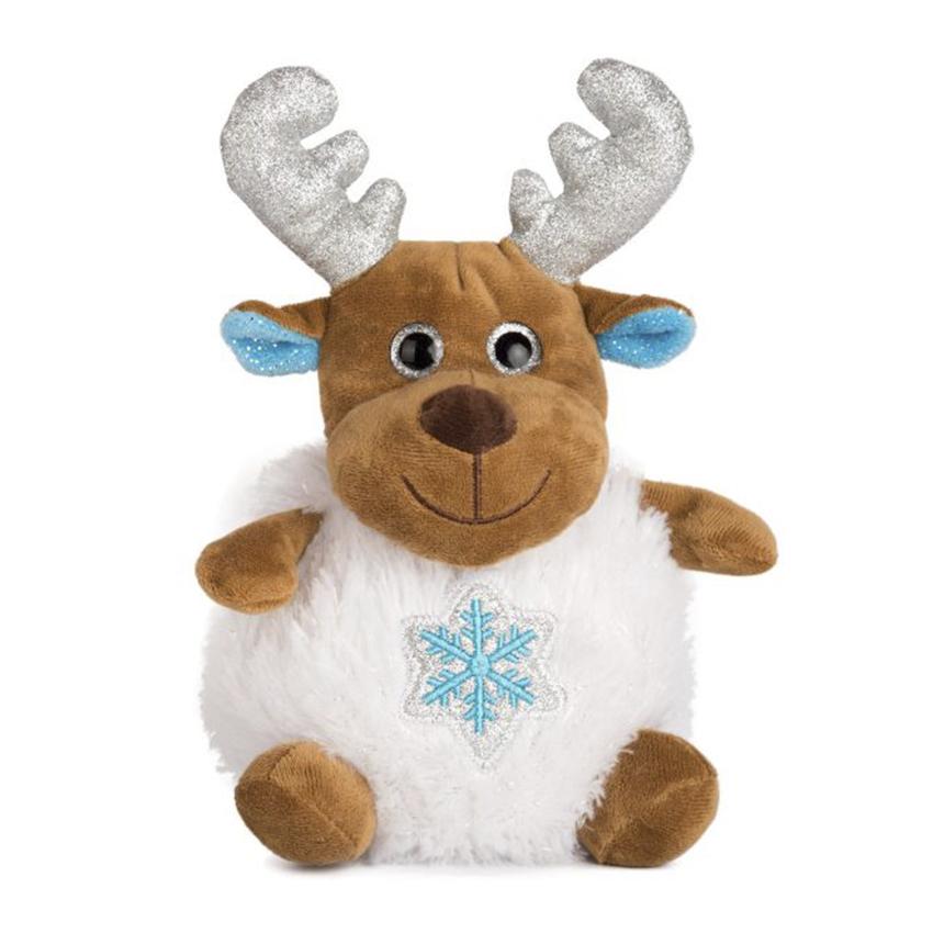 Коледен елен със снежинка