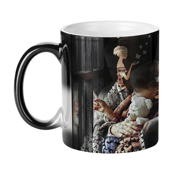 Гравирана магическа чаша Жена