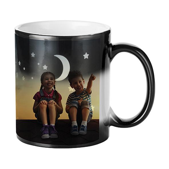 Гравирана магическа чаша Луна и звезди