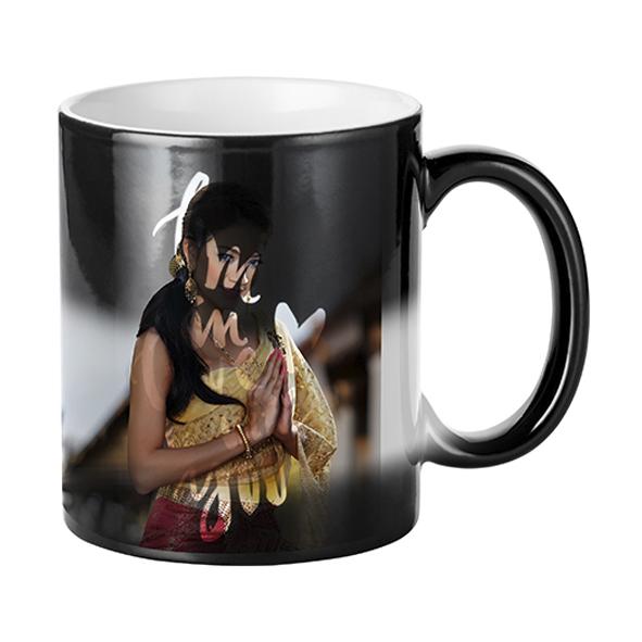 Гравирана магическа чаша Влюбен съм