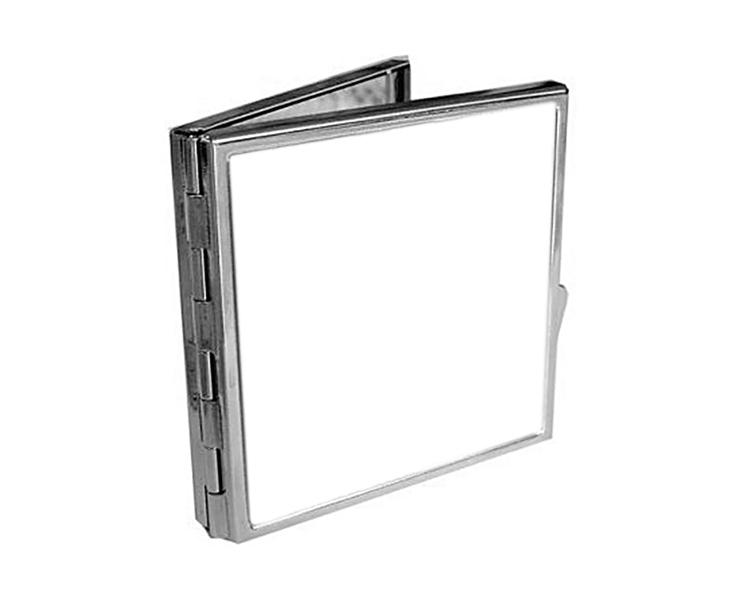 Метално квадратно огледало