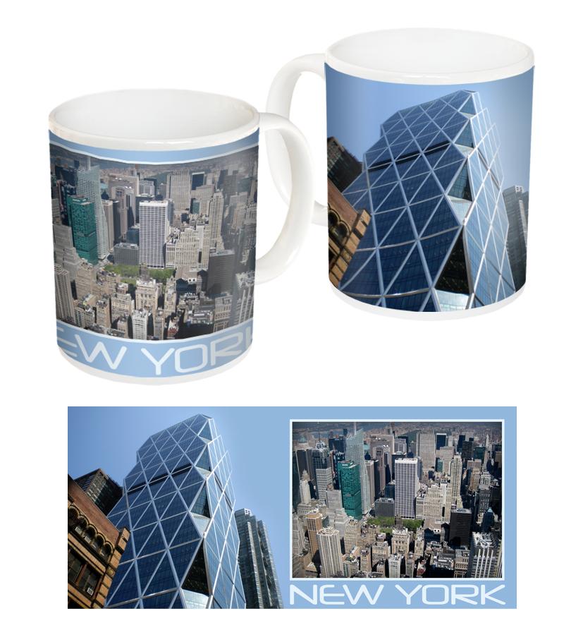 Чаша със снимки от Ню Йорк