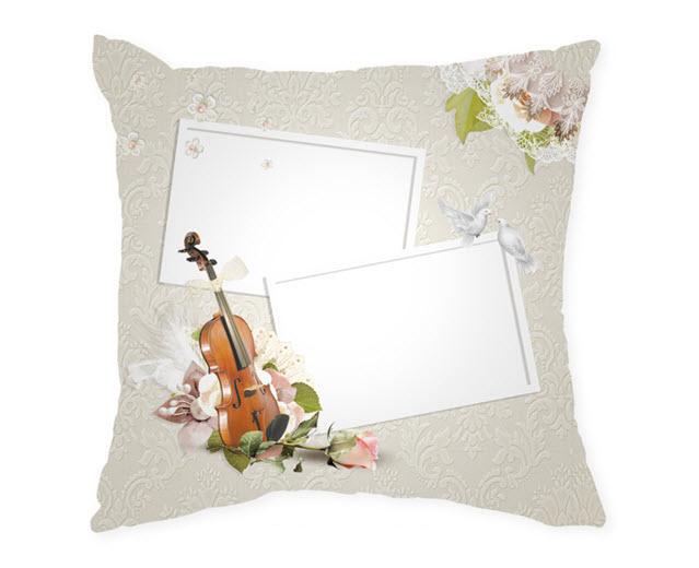 Възглавница с рамка и снимка, Модел: APIL323
