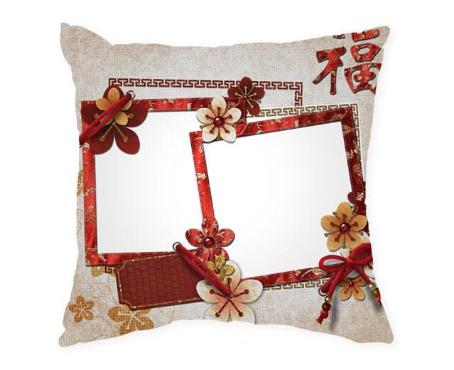 Възглавница с рамка и снимка, Модел: APIL325