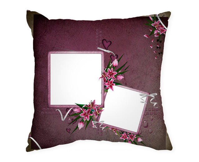 Възглавница с рамка и снимка, Модел: APIL328