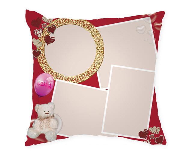 Възглавница с рамка и снимка, Модел: APIL332
