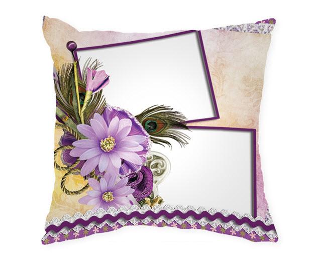 Възглавница с рамка и снимка, Модел: APIL335