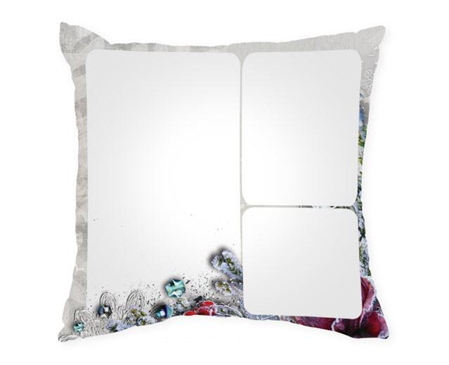 Възглавница с рамка и снимка, Модел: APIL336