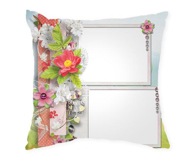 Възглавница с рамка и снимка, Модел: APIL337