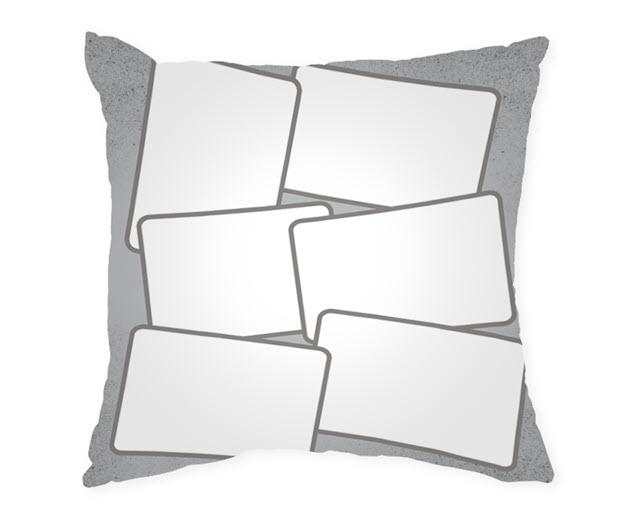 Възглавница с рамка и снимка, Модел: APIL339