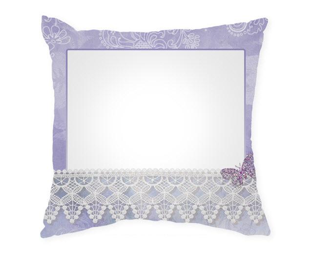 Възглавница с рамка и снимка, Модел: APIL342