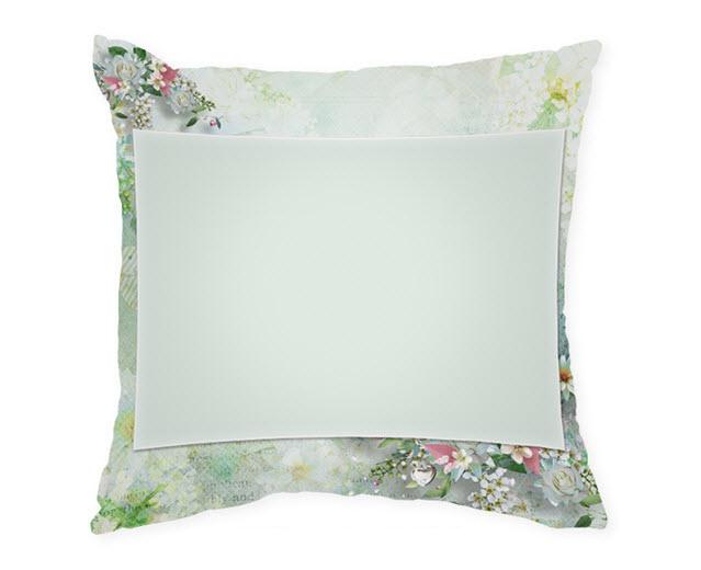 Възглавница с рамка и снимка, Модел: APIL343