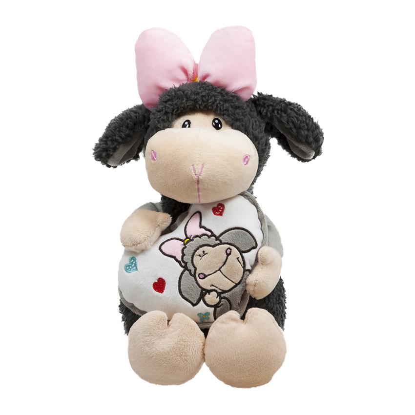 Овчица с панделка и сърчице