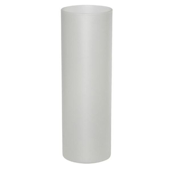Стъклена ваза със снимка