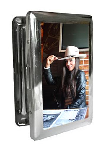 Табакера със снимка