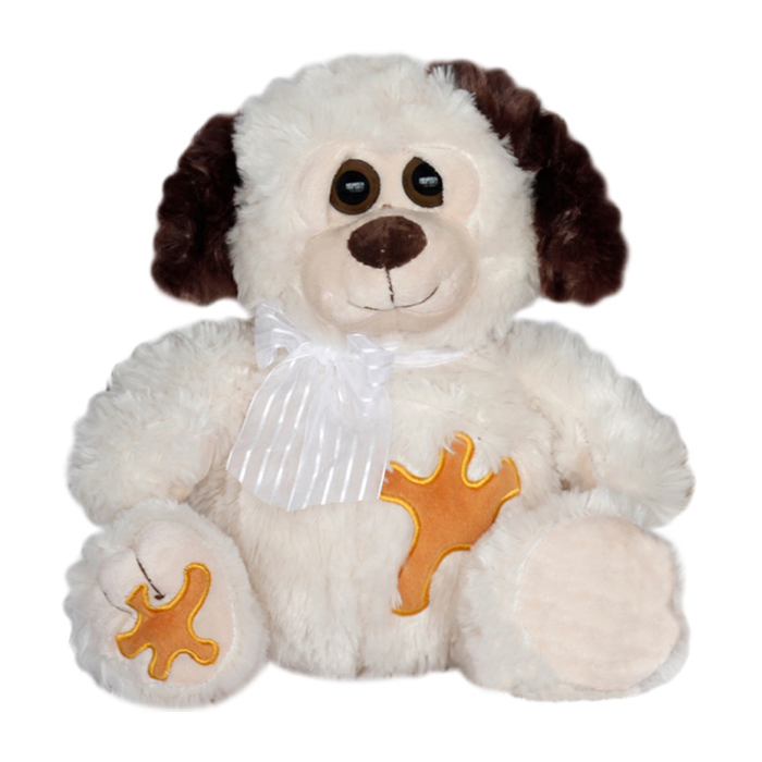 Плюшена играчка куче, 28см.